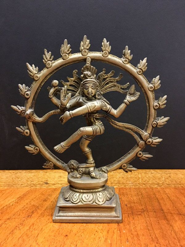 Nataraja: Hindu god Shiva as the cosmic ecstatic dancer.