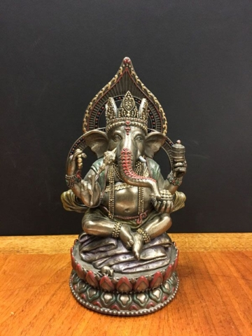 Ganesh Ganesha with mouse of chaos
