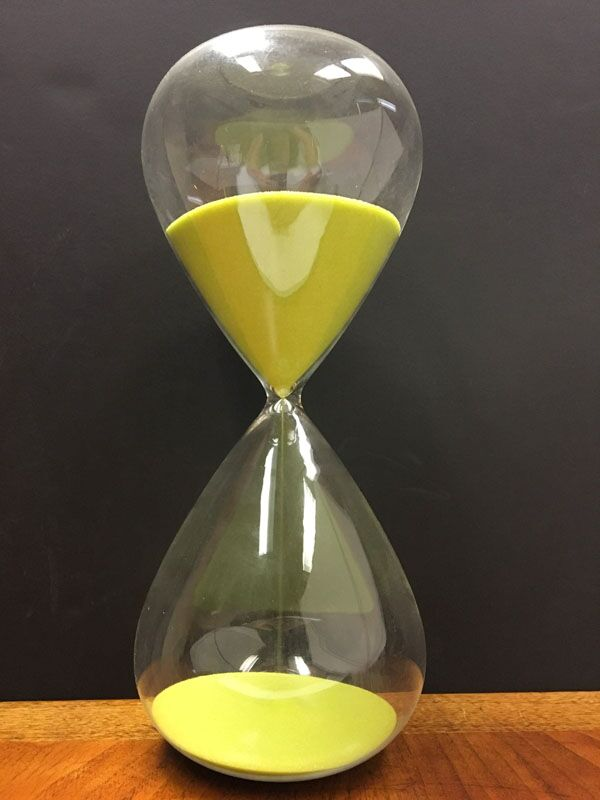 Hour Glass timekeeper of old old times