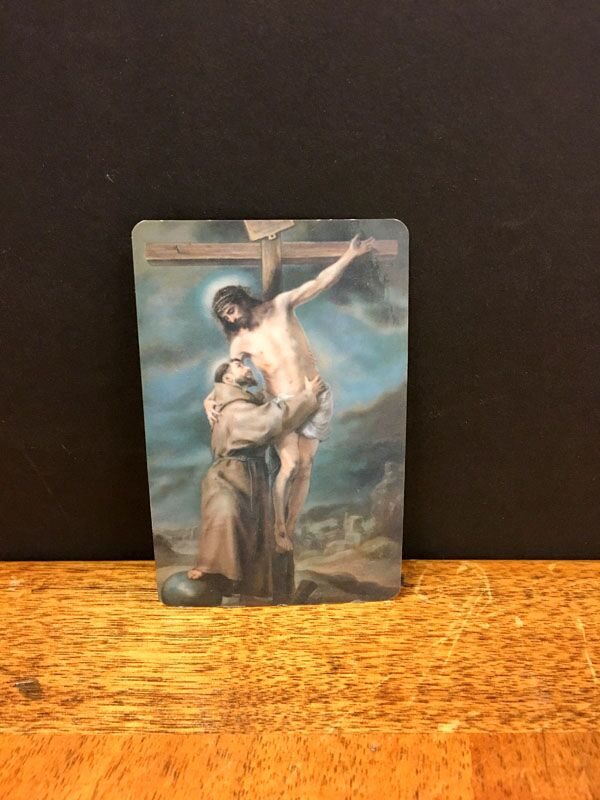 My favorite Saint Francis and namesake helping Jesus off the Cross