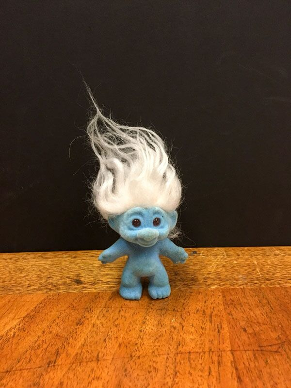 Troll Doll known as good luck troll