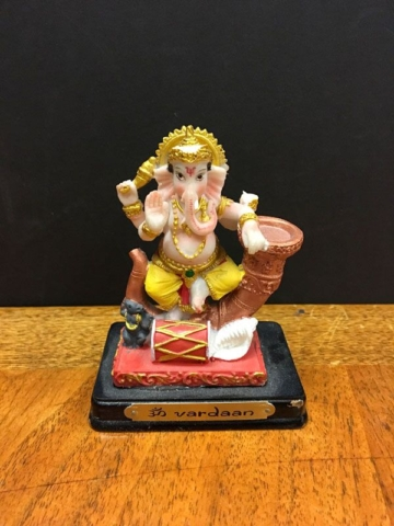 Lord Ganesha with mouse of chaos