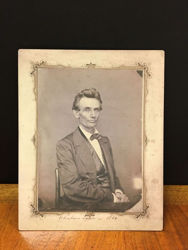 Photo of young Abe Lincoln, my hero