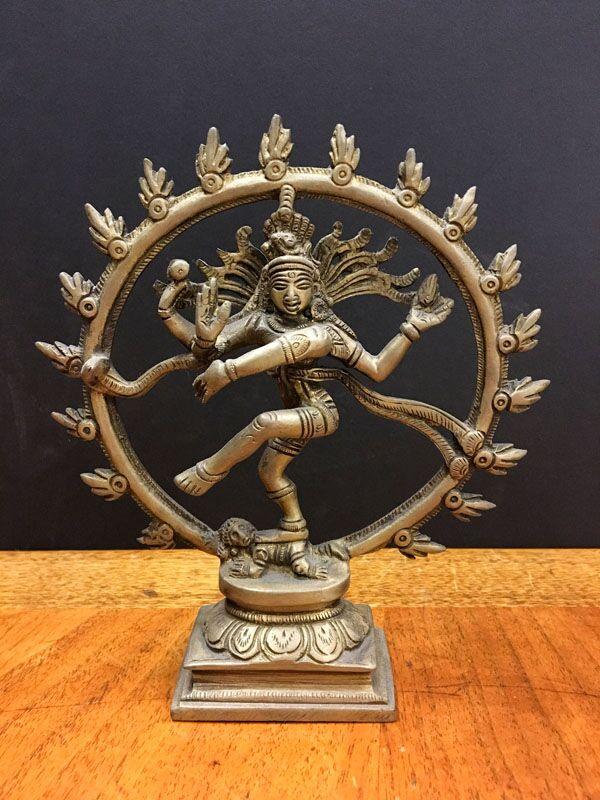 Nataraja: Hindu god Shiva as the cosmic ecstatic dancer.