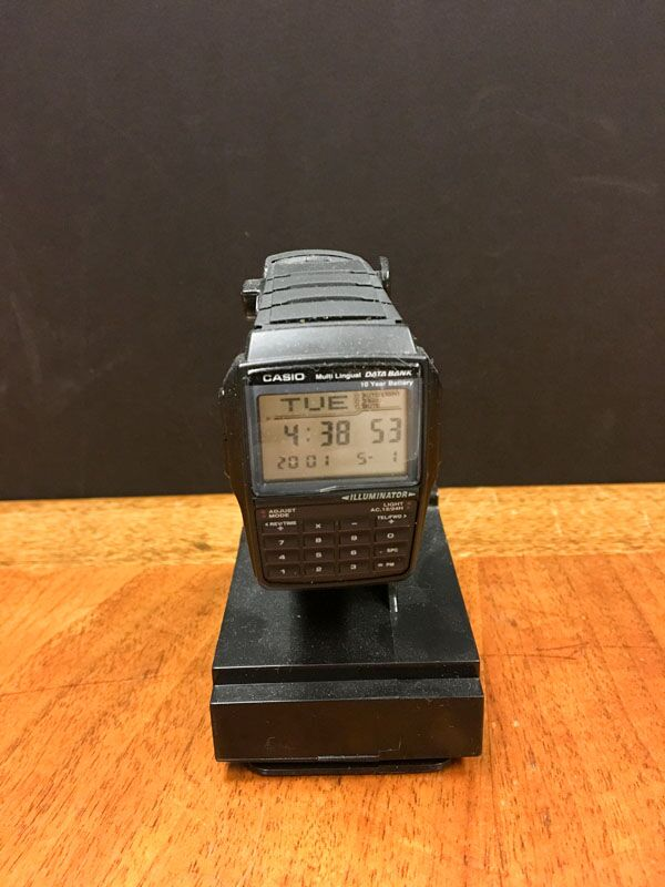 Casio calculator Watch circa 1980s just loved that watch !!